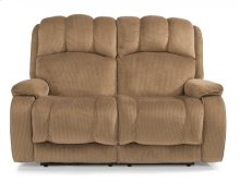 Huron Fabric Power Reclining Loveseat