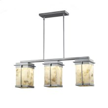 Pacific 3-Light LED Outdoor Chandelier