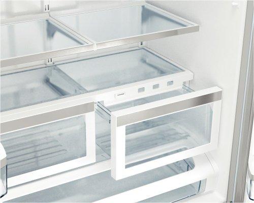 "36"" Counter-Depth French Door Bottom-Freezer 800 Series - Stainless Steel"
