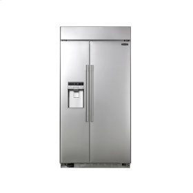 42-inch Built-in 25.6 cu.ft. Side-by-Side Refrigerator