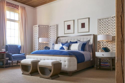 Anthony Baratta Luna Upholstered Bed (Cal. King)