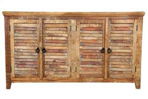GE5018 Louvre 4 Door Sideboard