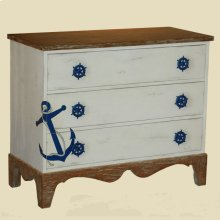 """Shoreline"" Anchor Chest"