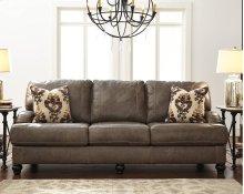 Timber and Tanning Sofa