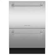 Double DishDrawer Dishwasher, Tall, Sanitize