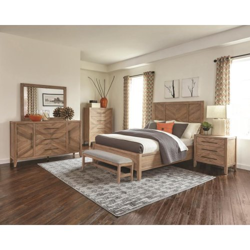 Auburn Rustic Queen Four-piece Set