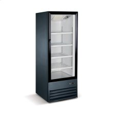 9 cu ft 1 Door Merchandiser Refrigerator (Black)