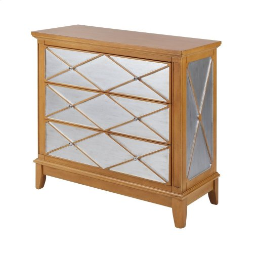 Buccino Silver and Brown Transitional Chest