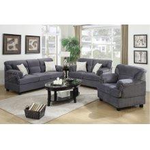 3 Pcs Sofa Set