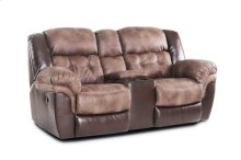 139-22-17  Reclining Console Loveseat
