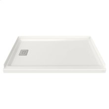 60x36-inch Acrylic Shower Base - Left Side Drain  American Standard - White