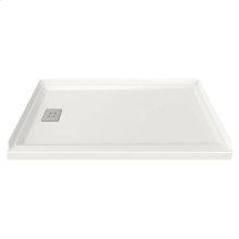 60x36-inch Acrylic Shower Base - Left Side Drain  American Standard - White