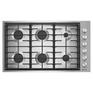 "Jenn-AirEuro-Style 36"" 6-Burner Gas Cooktop"