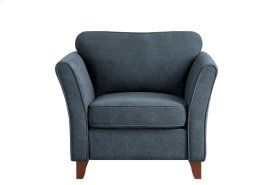 Chair, Dark Gray Fabric