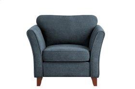 Chair, Dark Gray Fabric
