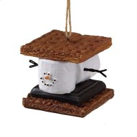 S'mores Sandwich Ornament. Product Image