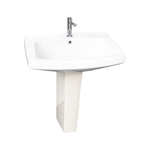 "Galaxy 28"" Pedestal Lavatory - Single-Hole"