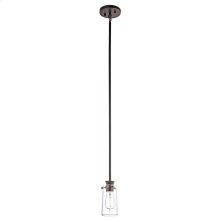 Braelyn Collection Braelyn 1 Light Mini Pendant - Olde Bronze