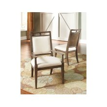 Wood Back Arm Chair -kd