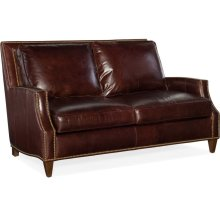 Bradington Young Howe Stationary Loveseat 8-Way Tie 769-75