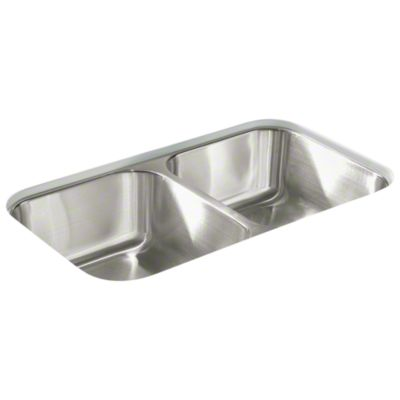 McAllister® Undercounter Double-basin Kitchen Sink