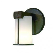 Post-Ring Sconce - WS405 White Bronze Dark
