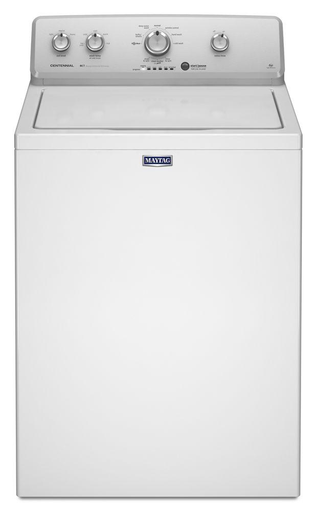 ft top load washer with powerwash agitator hidden