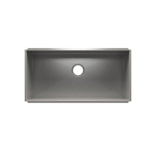 """UrbanEdge® 003690 - undermount stainless steel Kitchen sink , 33"""" × 16"""" × 10"""""""