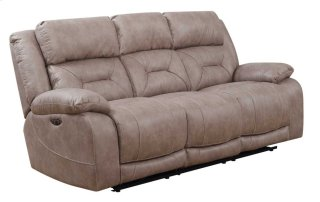 Harper Power Headrest Reclining Sofa, Sand