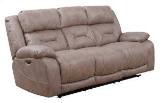 Aria Power Headrest Reclining Sofa, Desert Sand