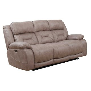 Harper Power Headrest Reclining Sofa, Sand
