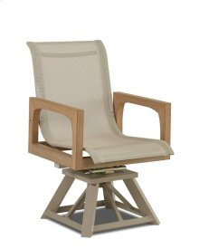 Delray Swivel Rocking Dining Chair