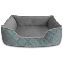 Comfy Pooch Damask Flocked Pet Bed HD83-309