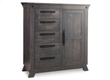 Algoma 5 Drawer 1 Door Gentlemans Chest