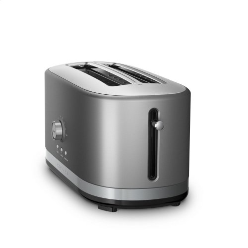 4-Slice Long Slot Toaster with High Lift Lever - Contour Silver