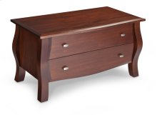 Sophia Blanket Chest with False Fronts, Wood Top