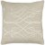 """Additional Leah LAH-004 22"""" x 22"""" Pillow Shell with Polyester Insert"""