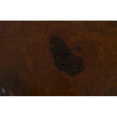 Mai Theng Burled Wood Coffee Table