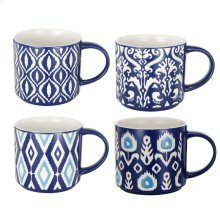 S/4 Oversized Mugs