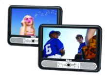 """Twin Mobile DVD Players with 9"""" LCD screens"""