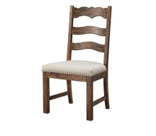 Chambers Bay - Side Chair Slat Back Upholstered Seat