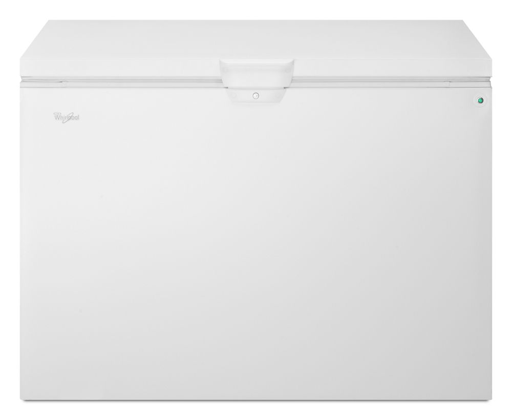 15 cu. ft. Chest Freezer with Large Storage Baskets  WHITE
