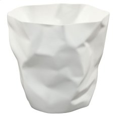 Lava Trash Bin in White Product Image