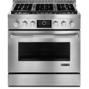 "JENN-AIR36"" Pro-Style(R) LP Range with MultiMode(R) Convection System"