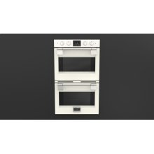 """30"""" Pro Double Oven - Glossy White"""