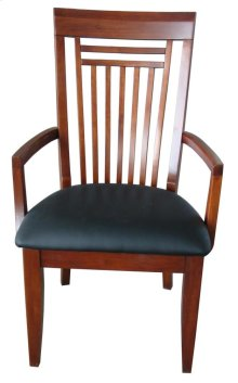 Hampton Arm Chair w/Vinyl Seat