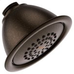 "MoenMoen oil rubbed bronze one-function 4"" diameter spray head standard"