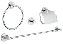 Essentials Master bathroom accessories set 4-in-1