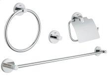 Essentials Master bathroom accessories set 4-in-1