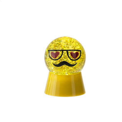 Lighted LED Emoji Mini Shimmer (3 asstd)